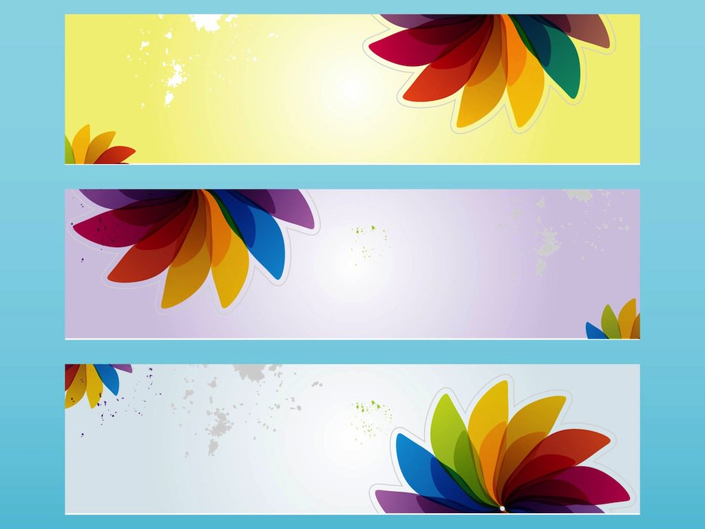 freevector-spring-banners